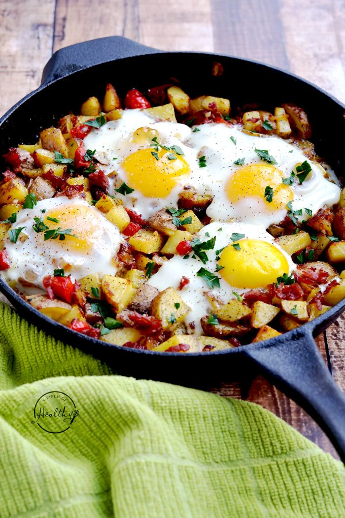 Corned Beef Hash And Eggs A Pinch Of Healthy