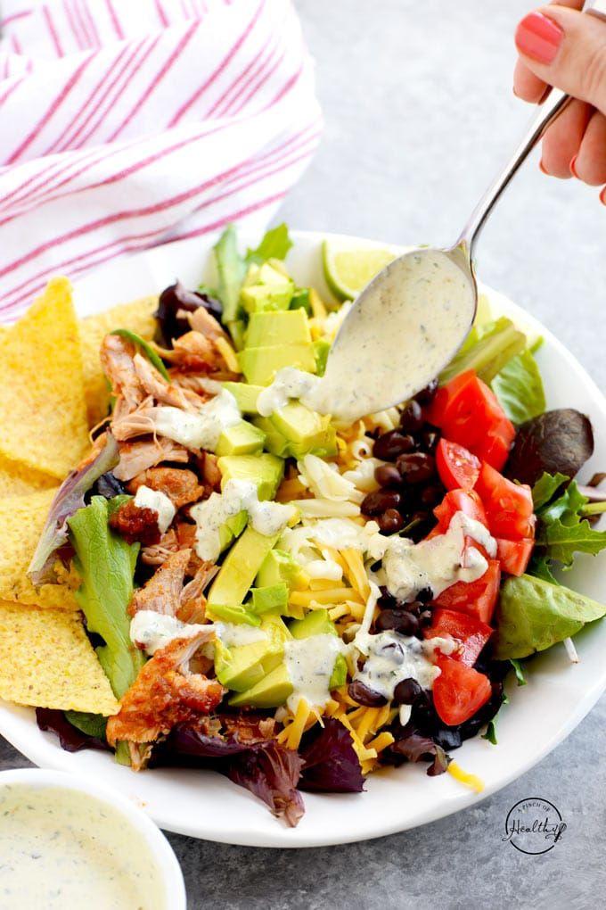 Taco Salad Dressing Recipe Healthy
