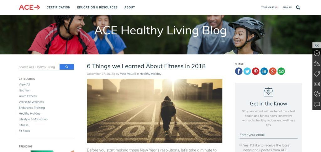 Click here to discover the best fitness blogs to follow for this year. | Find the best fitness blog here. #fitness #keepingfit #health #healthylife #healthyliving #healthier #workouts #fitnessgoals