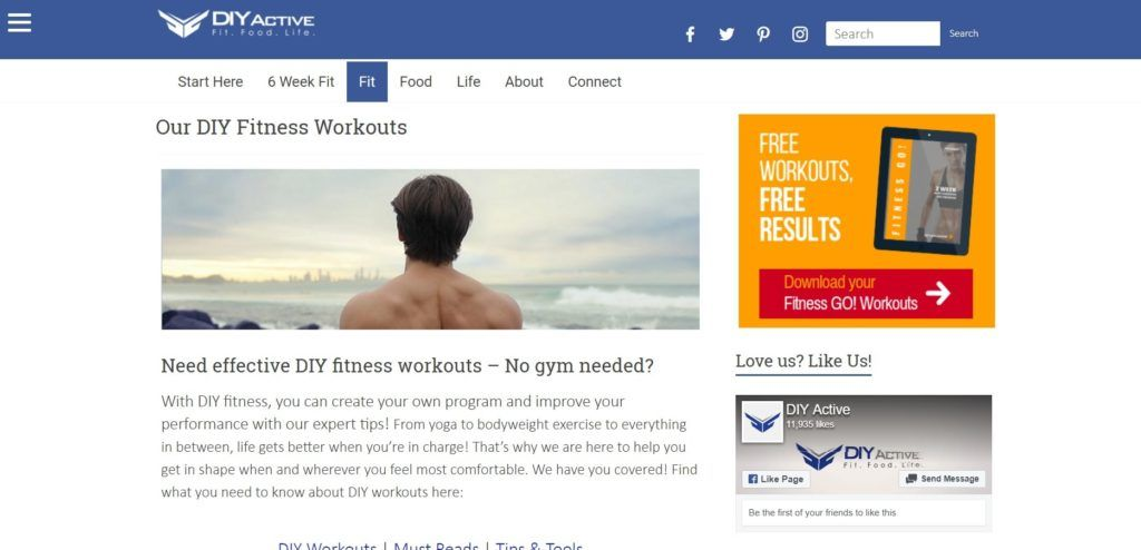 Check out the top health and fitness websites for 2019 with information from this definitive guide. | Check out the best workouts for moms. #workouts #keepingfit #fitnessgoals #health #healthylifestyle #exercise #fitness