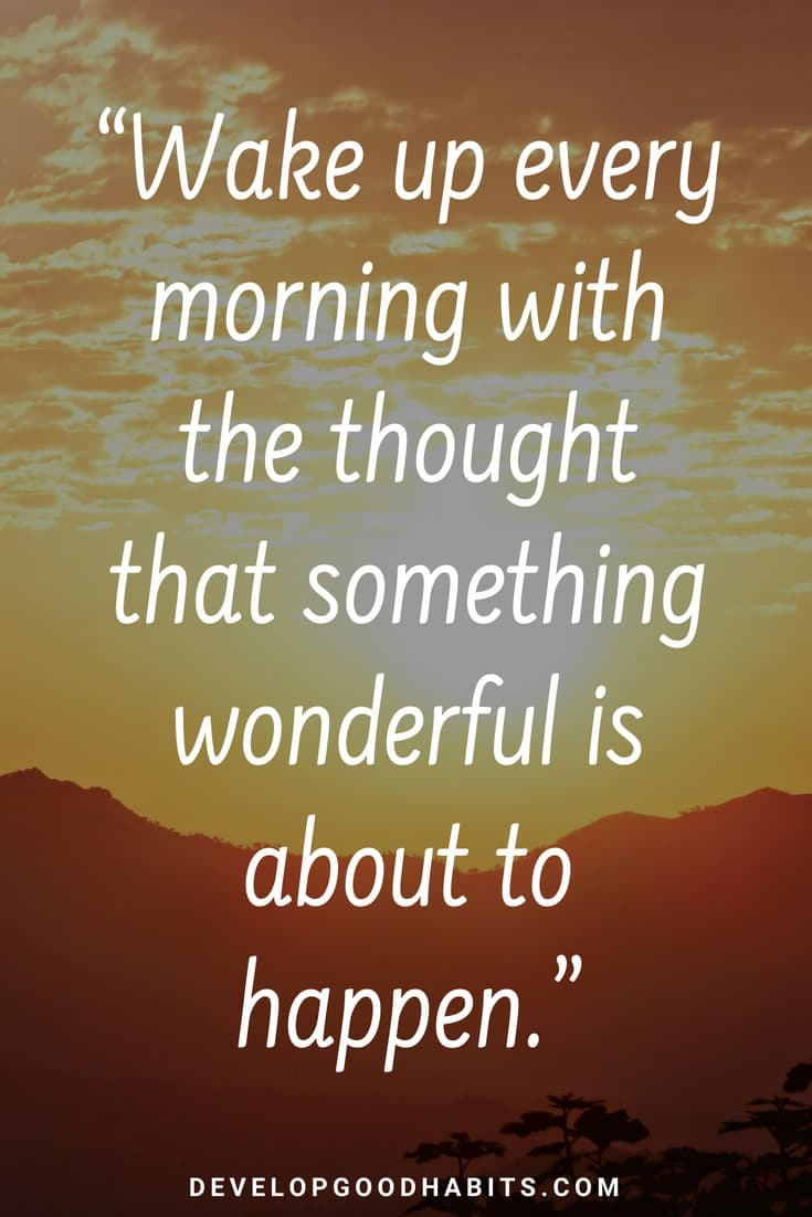 5 Beautiful Good Morning Quotes & Sayings [New for 5!]