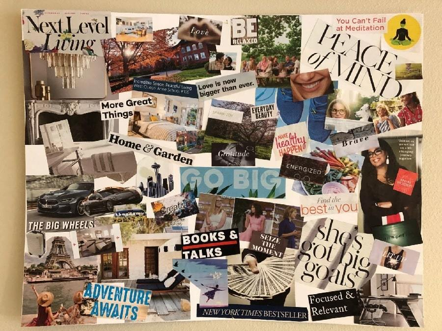 51 Vision Board Ideas For Your Important Goals In 2021
