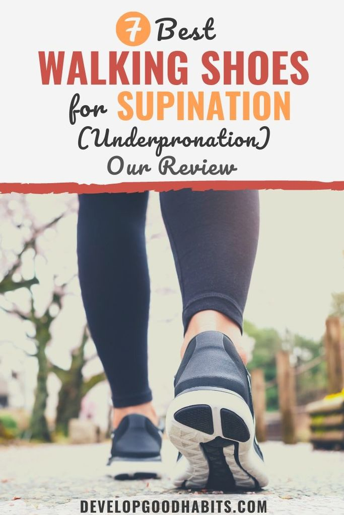 7 Best Walking Shoes for Supination