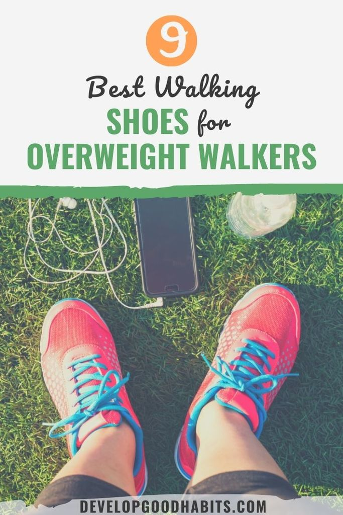 9 Best Walking Shoes for Overweight