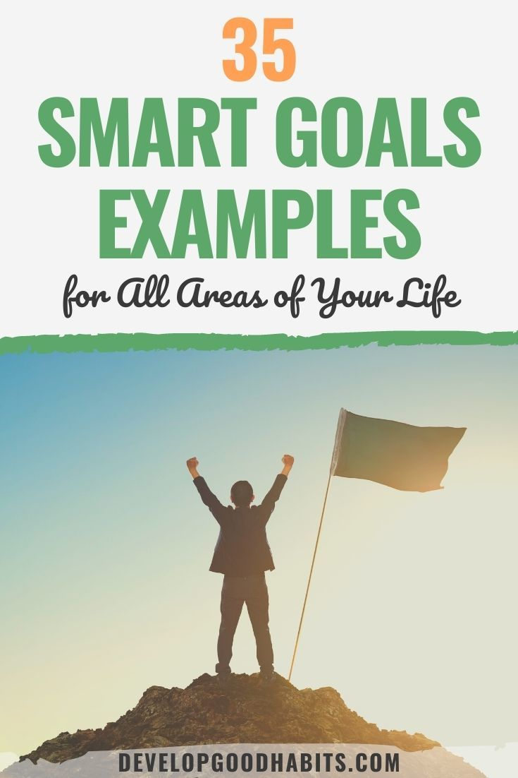 35 SMART Goals Examples for All Areas of Your Life