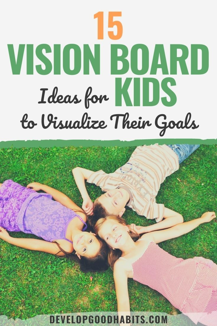 15 Vision Board Ideas for Kids to Visualize Their Goals
