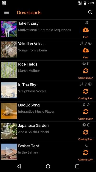 mynoise | best nature sounds app | background noise for sleep