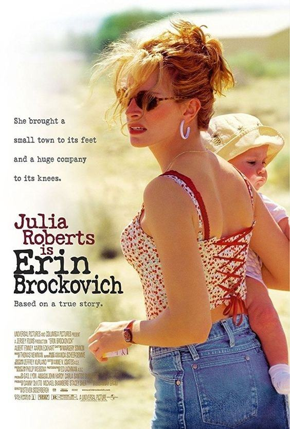 erin brockovich | movies about business success | kid entrepreneur movies