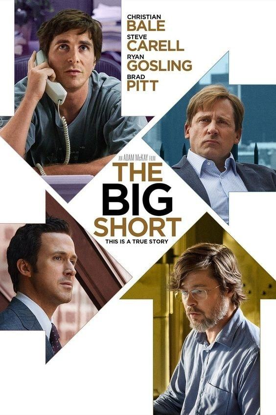 the big short | best entrepreneur movies | the call of the entrepreneur