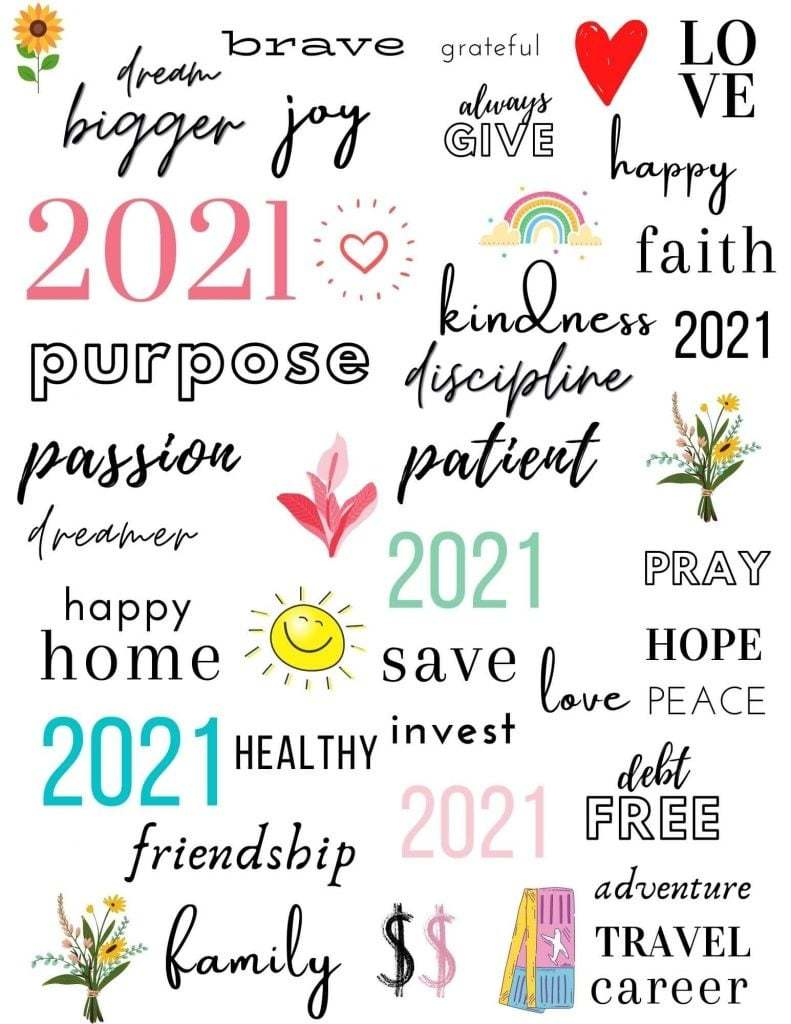 getting to the heart of what you want | vision board template pdf | vision board examples