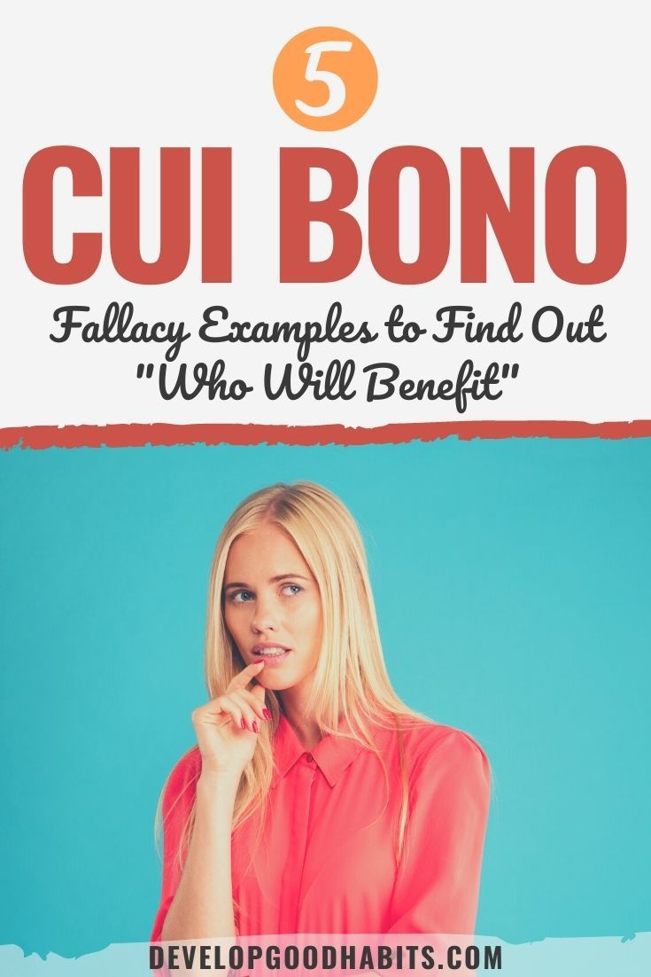 5 Cui Bono Fallacy Examples to Find Out