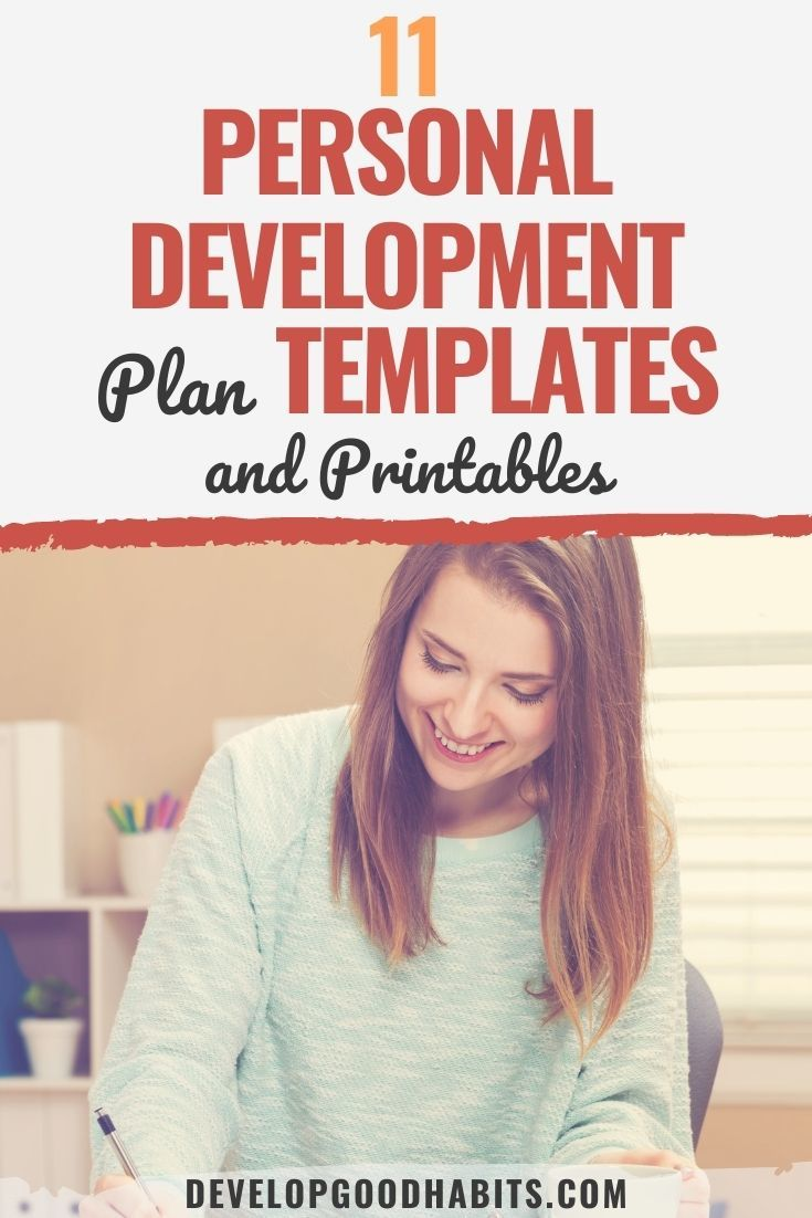11 Personal Development Plan Templates and Printables for 2021