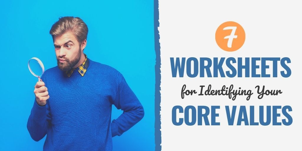 why personal core values are important   identifying core values worksheet pdf   core values quiz