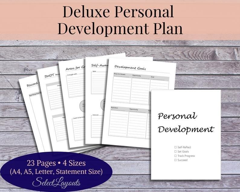deluxe personal development plan | personal development plan example for students | personal development plan assignment example