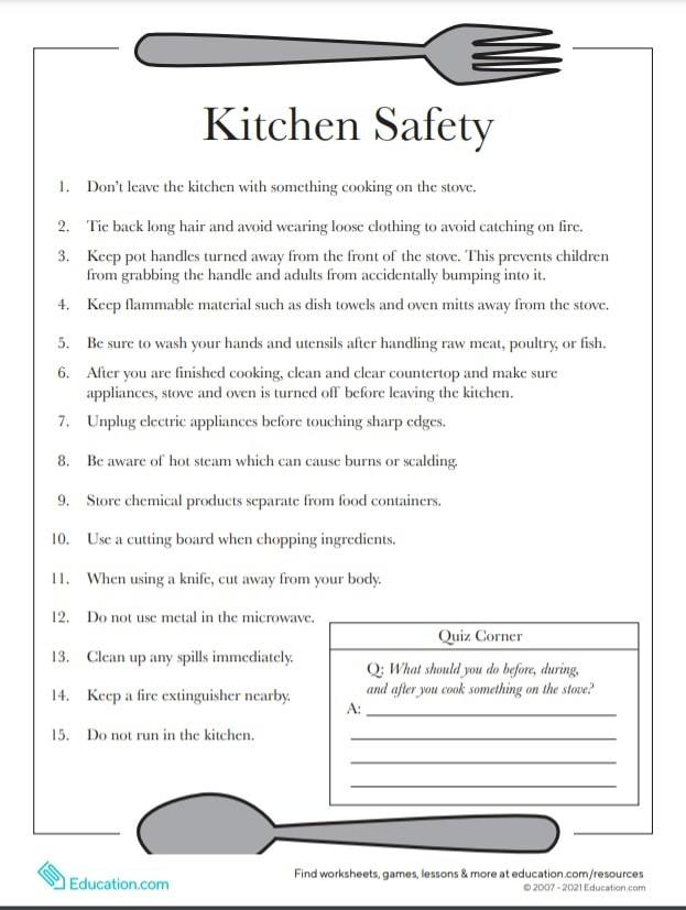 free printable life skills worksheets for special needs students | free printable life skills worksheets for highschool students | students life skills worksheets